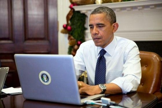 Барак Обама twitter