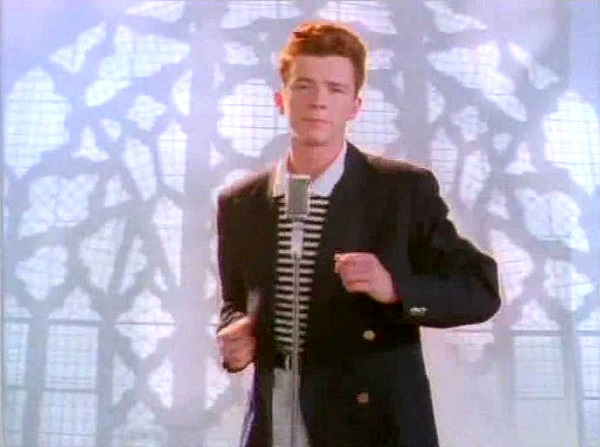never gonna let you down