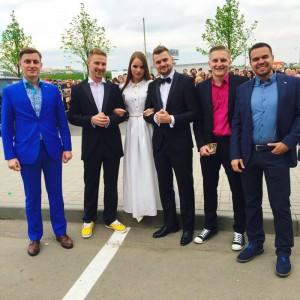 Блогеры на премии RU.TV